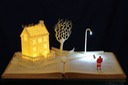 A Visit from St Nicholas book sculpture 1 web