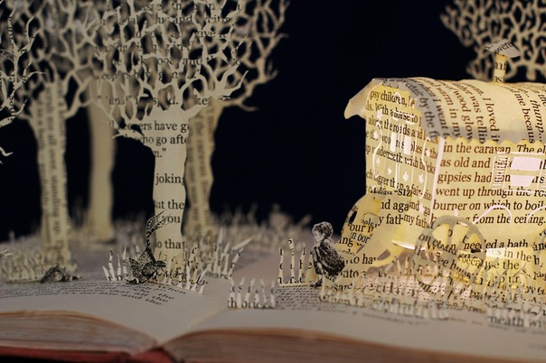 Danny Champion of the World book sculpture 5 web