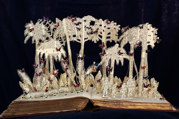 Huning for Heliconius book sculpture 1 web