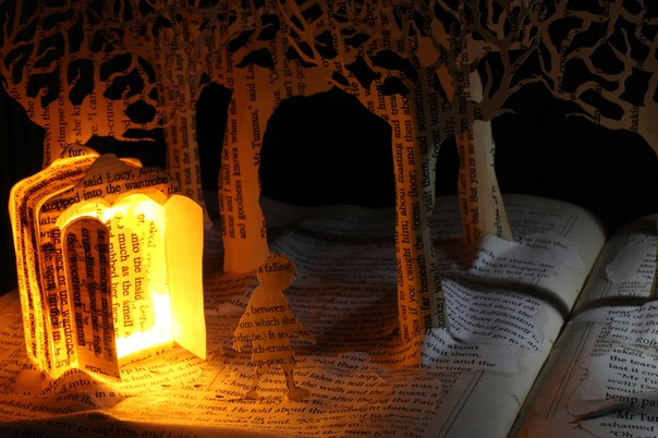 Meeting Mr Tumnus book sculpture 5 web