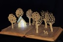 New Hansel and Gretel book sculpture 1 web