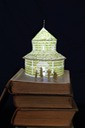 Round Church book sculpture 1 web