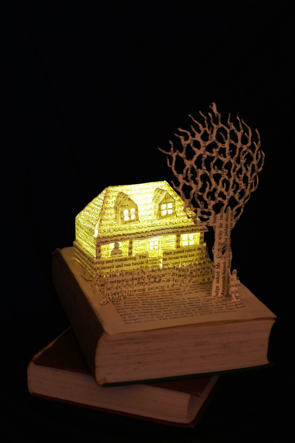To Kill A Mockingbird Book Sculpture by Justin Rowe